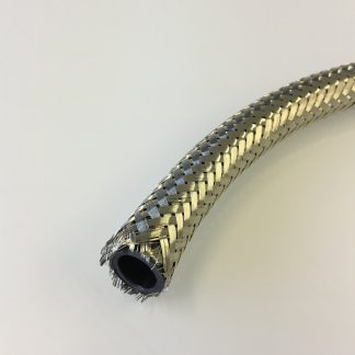 Shielding braid with nylon former