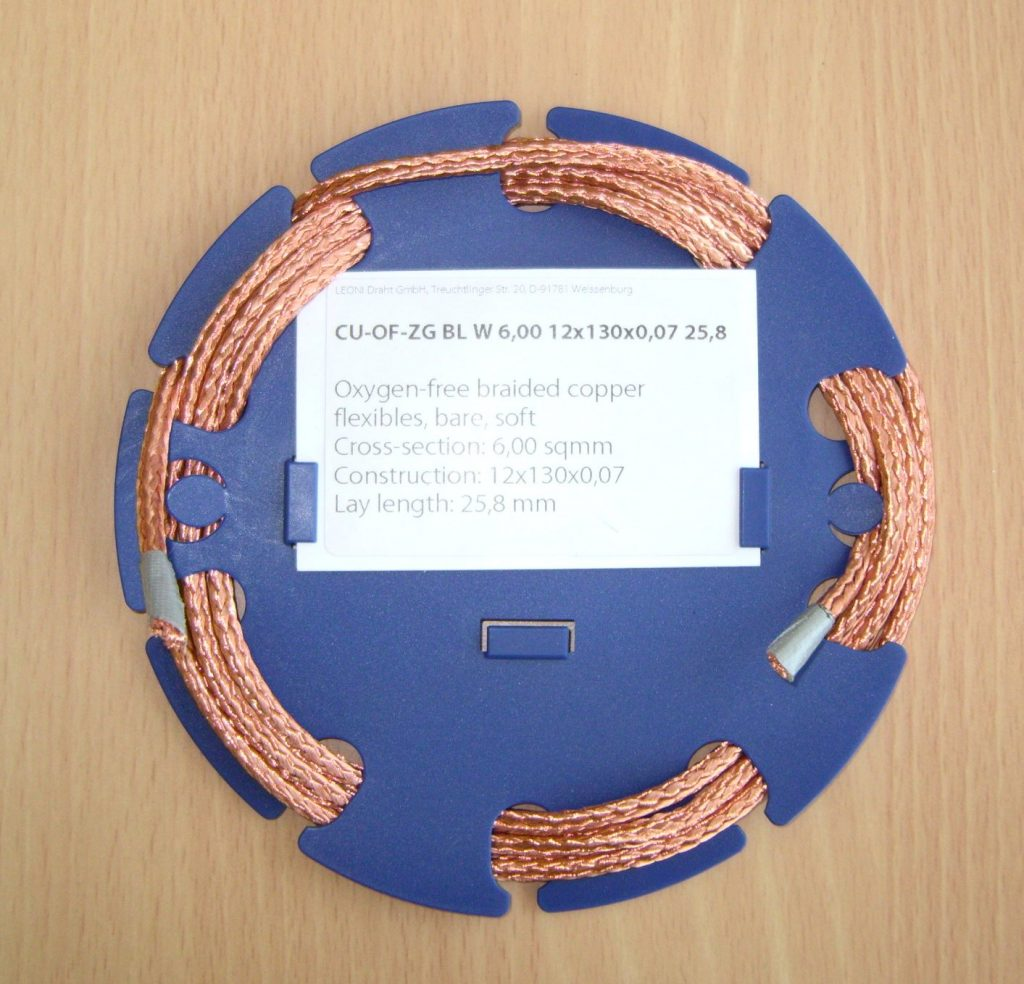 Oxygen Free Copper Braid - Round