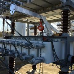 Copper Braid Transformer Connections