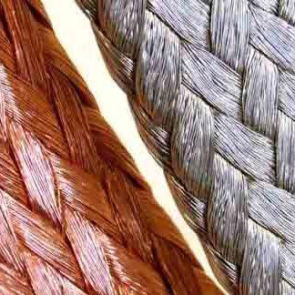 Flat Super Flexible Copper Braid